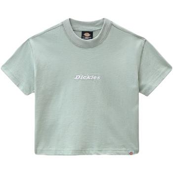 vaatteet Naiset Lyhythihainen t-paita Dickies DK0A4XBAB871 Vihreä