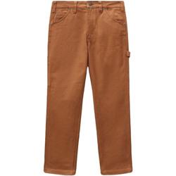 vaatteet Naiset 5-taskuiset housut Dickies DK0A4XJHBD01 Ruskea