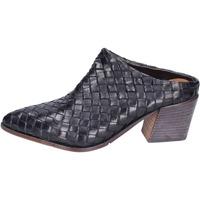 kengät Naiset Puukengät Moma BH772 Musta
