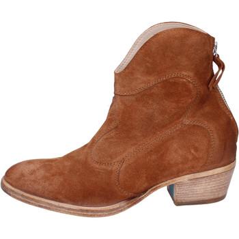 kengät Naiset Nilkkurit Moma BH809 Ruskea