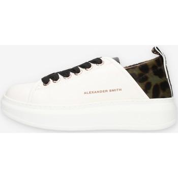 kengät Naiset Matalavartiset tennarit Alexander Smith E113211 Green