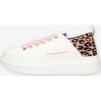 kengät Naiset Matalavartiset tennarit Alexander Smith E113211 Pink