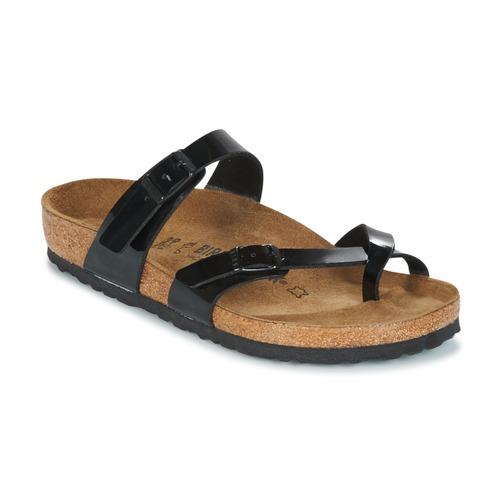 kengät Naiset Sandaalit Birkenstock MAYARI Musta