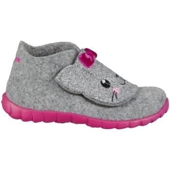 kengät Lapset Tossut Superfit Happy Harmaat