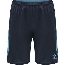 vaatteet Shortsit / Bermuda-shortsit Hummel Short  Poly hmlACTION noir/bleu