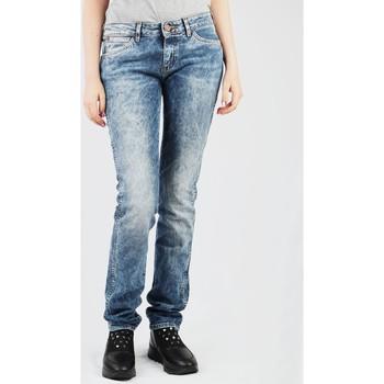 vaatteet Naiset Suorat farkut Wrangler Molly W251WJ12Y blue