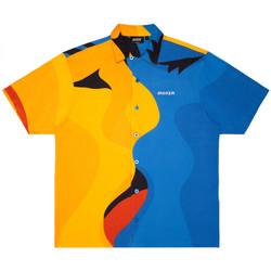 vaatteet Miehet Lyhythihainen paitapusero Jacker Color passion Monivärinen