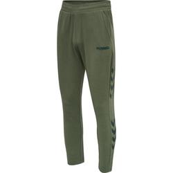 vaatteet Miehet Verryttelyhousut Hummel Jogging  hmlLegacy Tapered vert/noir