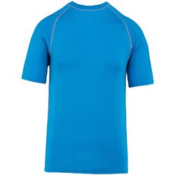 vaatteet Lyhythihainen t-paita Proact PA4007 Aqua