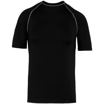 vaatteet Lyhythihainen t-paita Proact PA4007 Black