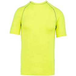 vaatteet Lyhythihainen t-paita Proact PA4007 Fluorescent Yellow