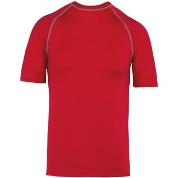 vaatteet Lyhythihainen t-paita Proact PA4007 Sporty Red
