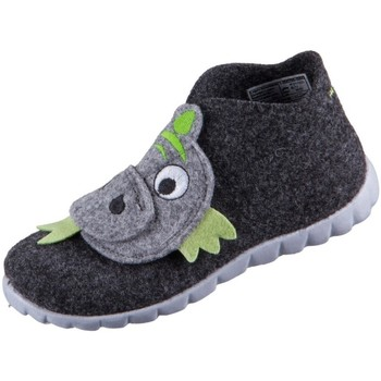 kengät Lapset Bootsit Superfit Happy Mustat