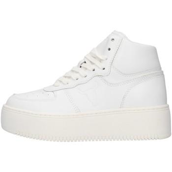 kengät Naiset Korkeavartiset tennarit Windsor Smith WSPTHRIVE WHITE