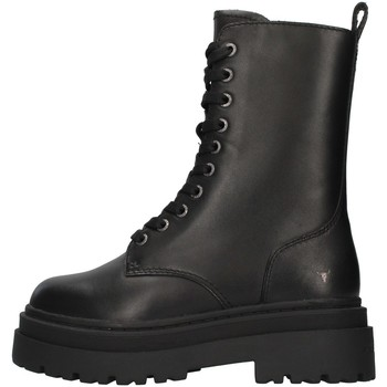 kengät Naiset Nilkkurit Windsor Smith WSSPAYBACK BLACK