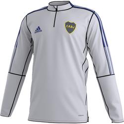 vaatteet Miehet Svetari adidas Originals Sweat Club Atlético Boca Junior gris clair/bleu