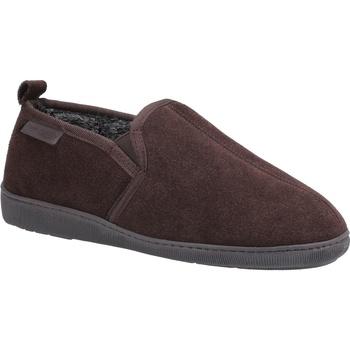 kengät Miehet Tossut Hush puppies  Brown