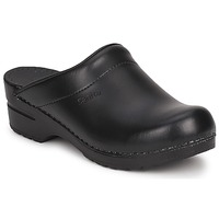 kengät Puukengät Sanita SONJA OPEN Black