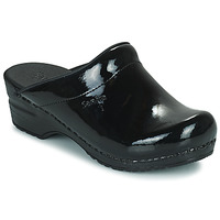 kengät Naiset Puukengät Sanita SONJA OPEN Black