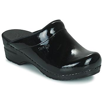 kengät Naiset Puukengät Sanita SONJA OPEN Musta