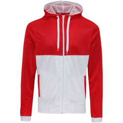 vaatteet Miehet Svetari Awdis JH059 Fire Red/Arctic White