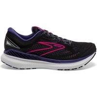 kengät Naiset Juoksukengät / Trail-kengät Brooks Glycerin Gts 19 Mustat