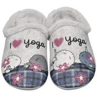 kengät Naiset Tossut Garzon 58518 grey