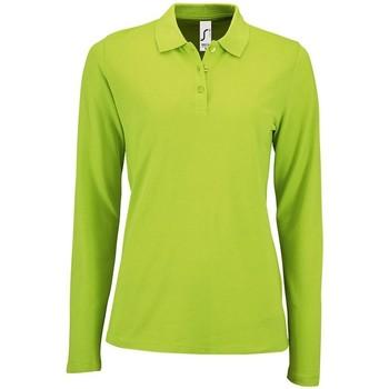 vaatteet Naiset T-paidat & Poolot Sols 02083 Apple Green