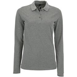 vaatteet Naiset T-paidat & Poolot Sols 02083 Grey Marl