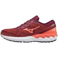 kengät Naiset Juoksukengät / Trail-kengät Mizuno Wave Skyrise 2 Punainen