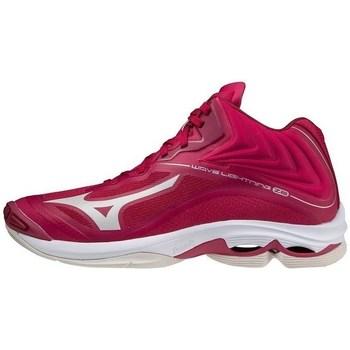 kengät Naiset Urheilukengät Mizuno Wave Lightning Z6 Mid Vaaleanpunaiset
