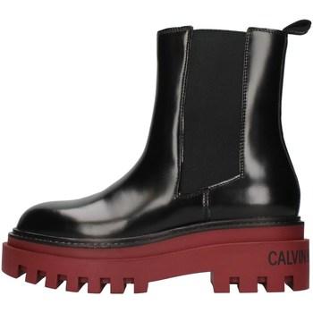 kengät Naiset Nilkkurit Calvin Klein Jeans YW0YW00419 BLACK