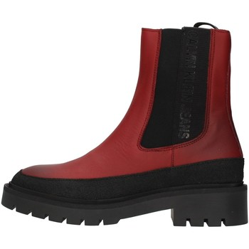 kengät Naiset Nilkkurit Calvin Klein Jeans YW0YW00418 BORDEAUX