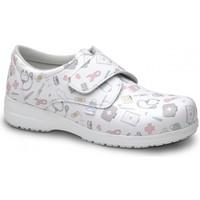 kengät Mokkasiinit Feliz Caminar ZAPATO SANITARIO UNISEX ATOM Valkoinen