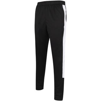 vaatteet Miehet Verryttelyhousut Finden & Hales LV881 Black/White