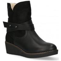 kengät Naiset Nilkkurit Etika 55086 black