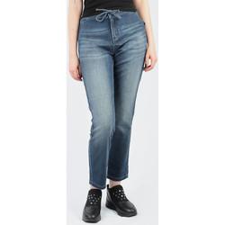 vaatteet Naiset Skinny-farkut Wrangler Slouchy Ocean Nights W27CAC69Y blue