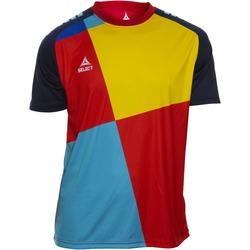 vaatteet Pojat Lyhythihainen t-paita Select T-shirt enfant  Player Pop Art bleu/jaune/rouge