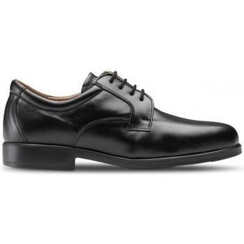 kengät Miehet Derby-kengät Feliz Caminar ZAPATO SANITARIO HOMBRE LORD Musta