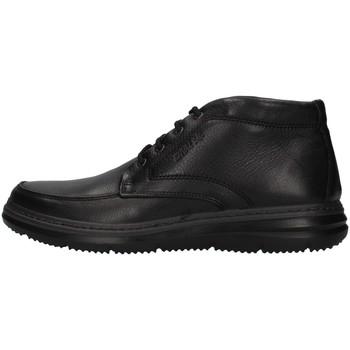 kengät Miehet Korkeavartiset tennarit Enval 8208300 BLACK