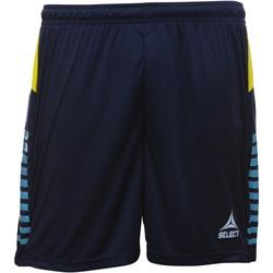 vaatteet Pojat Shortsit / Bermuda-shortsit Select Short enfant  player pop art bleu marine/bleu clair/jaune