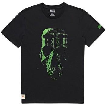 vaatteet Miehet Lyhythihainen t-paita Globe T-shirt  Refuse Skull noir