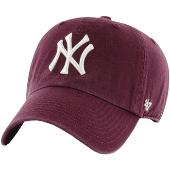 Asusteet / tarvikkeet Miehet Lippalakit 47 Brand New York Yankees MLB Clean Up Cap Bordeaux