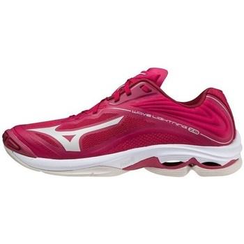 kengät Naiset Matalavartiset tennarit Mizuno Wave Lightning Z6 W Vaaleanpunaiset