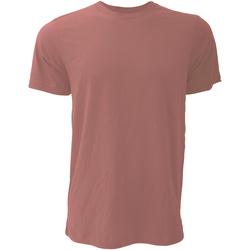 vaatteet Miehet Lyhythihainen t-paita Bella + Canvas CA3001 Mauve