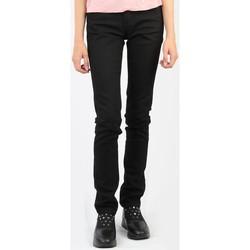 vaatteet Naiset Skinny-farkut Wrangler Molly Black Soul W251VB13H black