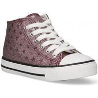 kengät Tytöt Korkeavartiset tennarit Bubble 58907 pink