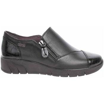 kengät Naiset Mokkasiinit Jana 882460027055 Mustat