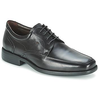 kengät Miehet Derby-kengät Fluchos RAPHAEL Musta