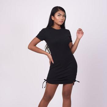 vaatteet Naiset Lyhyt mekko Project X Paris Robe femme noir